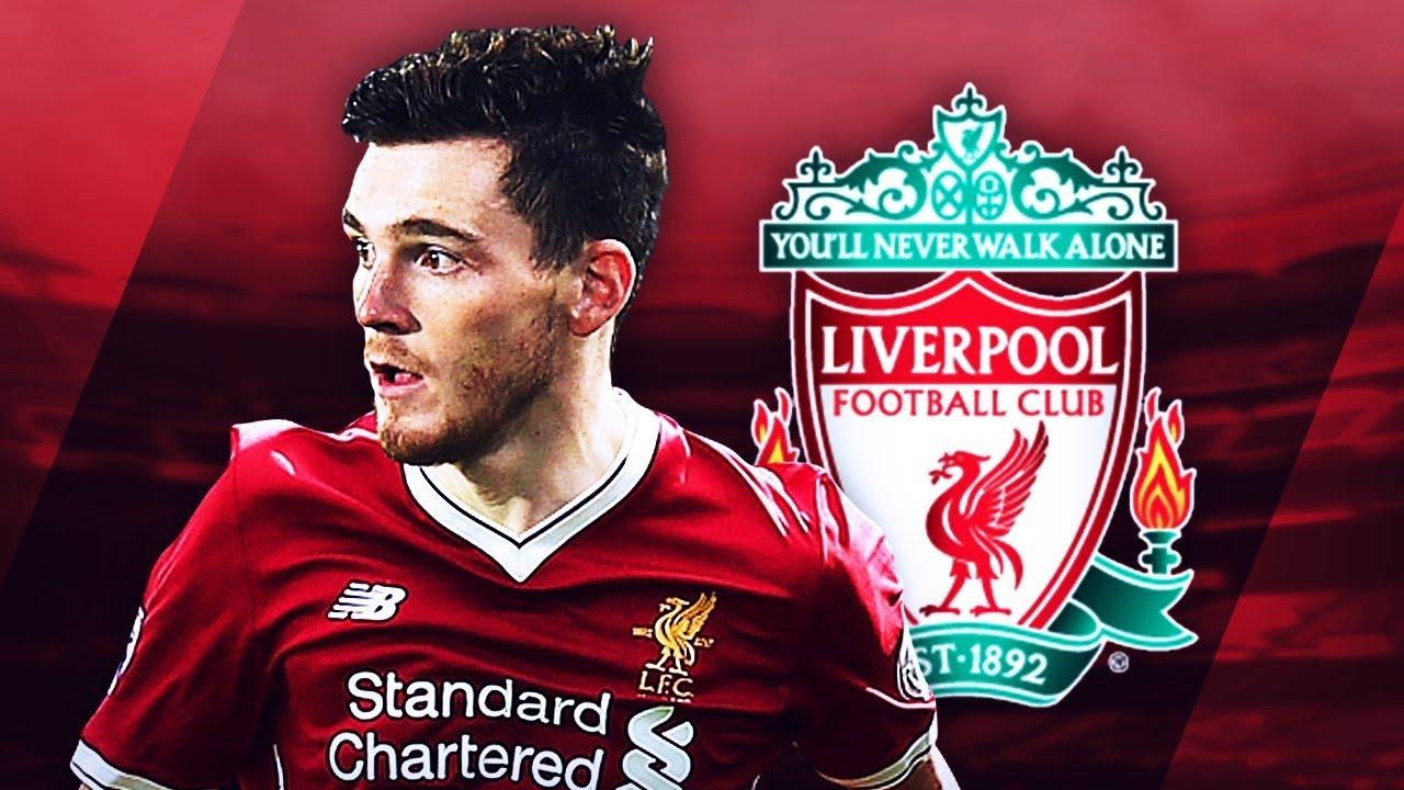 Andrew Robertson Telah Memperpanjang Kontrak Dengan Liverpool