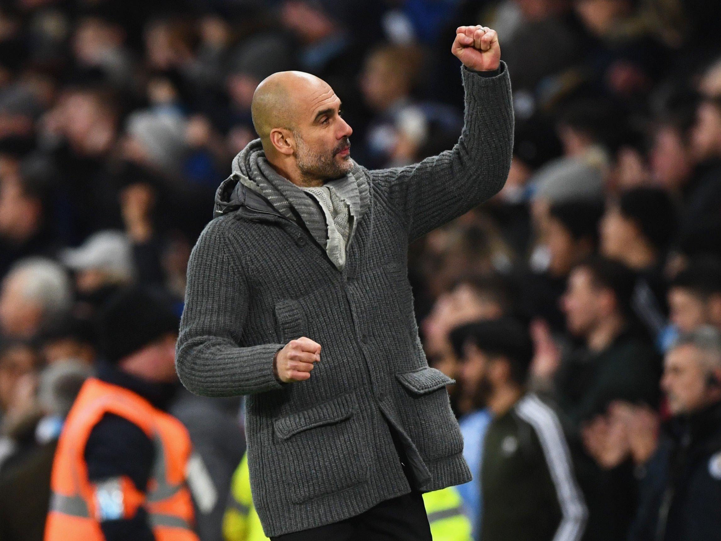 Pep Guardiola berharap perburuan gelar juara hingga musim berakhir