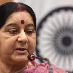 Politisi veteran India Sushma Swaraj, 67, meninggal di New Delhi